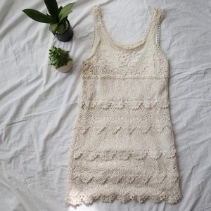 URBAN OUTFITTERS Staring at Stars Lace Dress